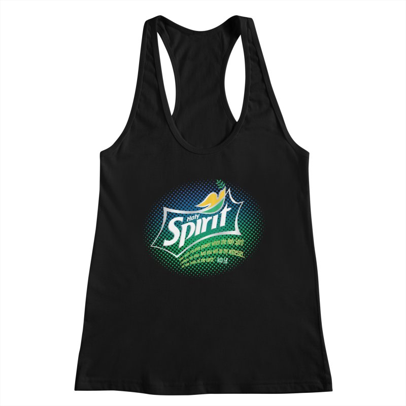 Holy Sprite Women's Tank by immerzion's t-shirt designs
