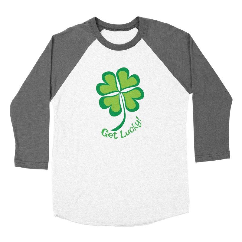Get Lucky! Women's Longsleeve T-Shirt by immerzion's t-shirt designs