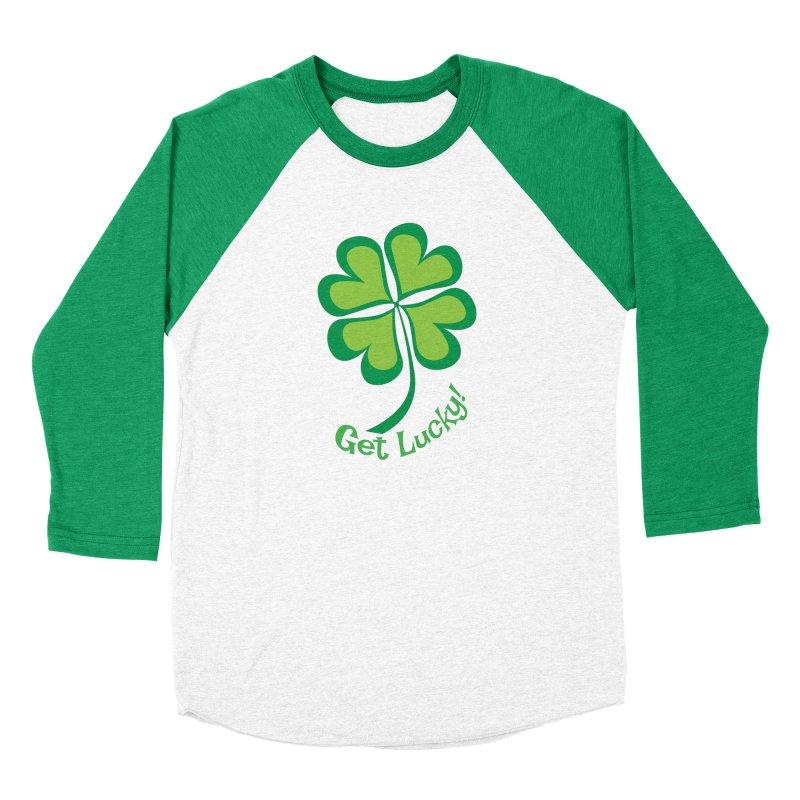 Get Lucky! Men's Longsleeve T-Shirt by immerzion's t-shirt designs