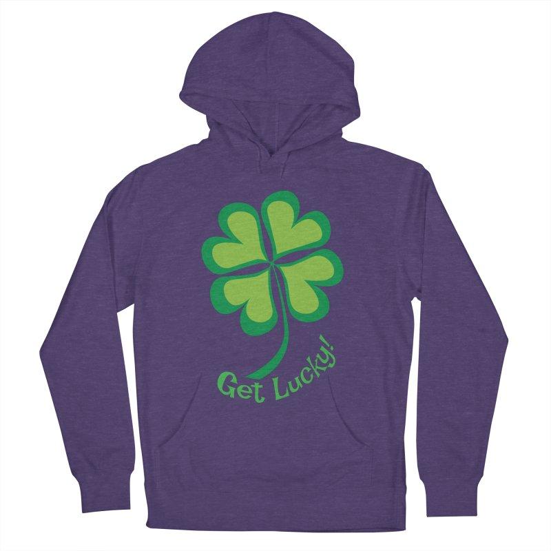 Get Lucky! Men's Pullover Hoody by immerzion's t-shirt designs