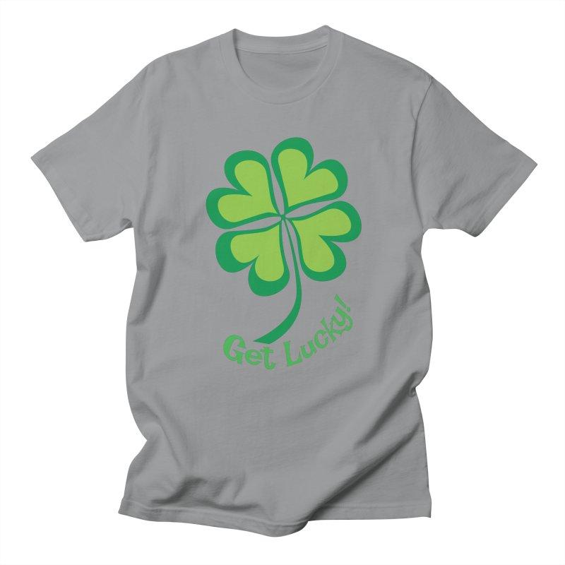 Get Lucky! Women's Unisex T-Shirt by immerzion's t-shirt designs