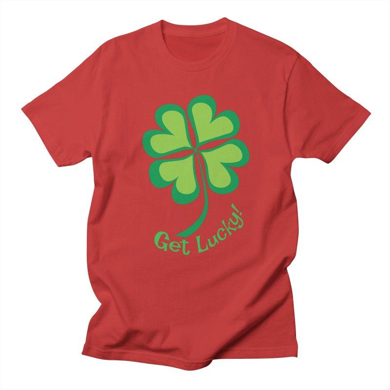 Get Lucky! Women's Regular Unisex T-Shirt by immerzion's t-shirt designs