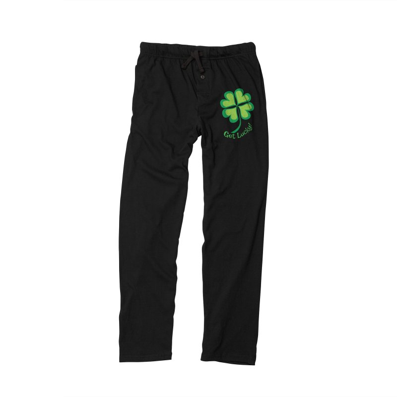 Get Lucky! Men's Lounge Pants by immerzion's t-shirt designs