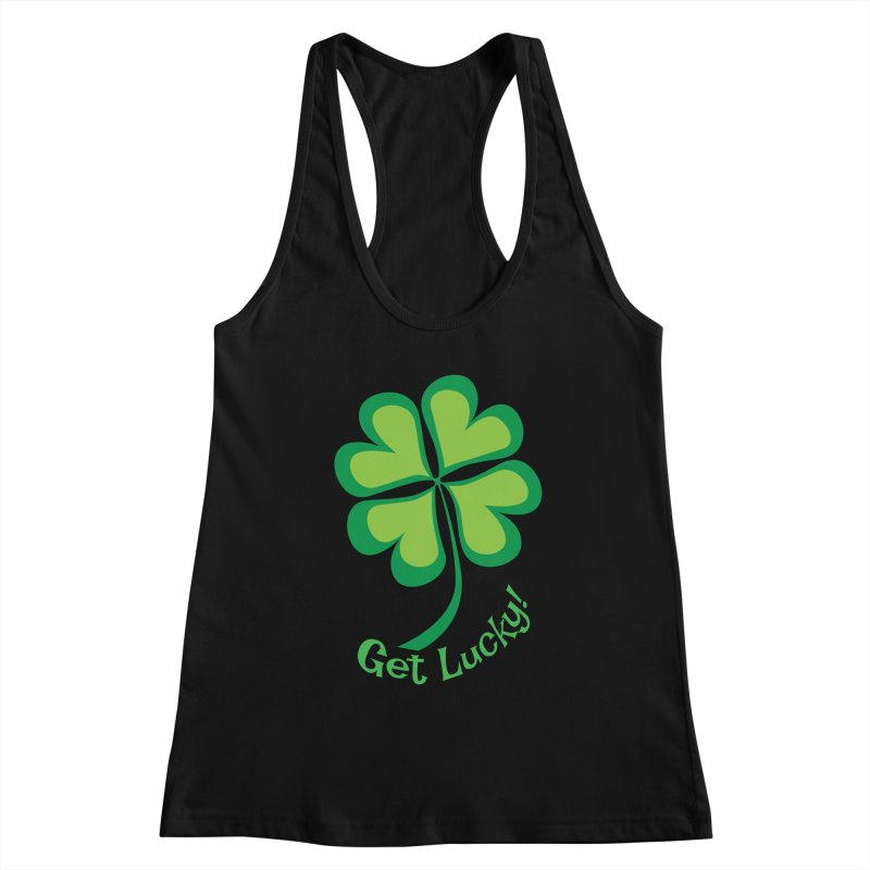 Get Lucky! Women's Tank by immerzion's t-shirt designs