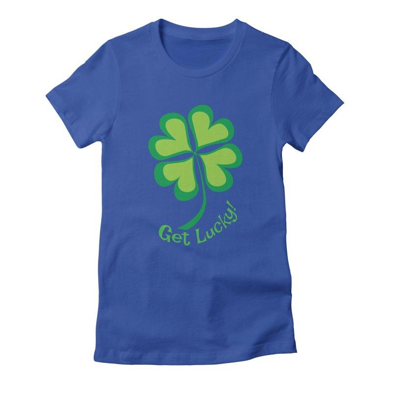 Get Lucky! Women's T-Shirt by immerzion's t-shirt designs