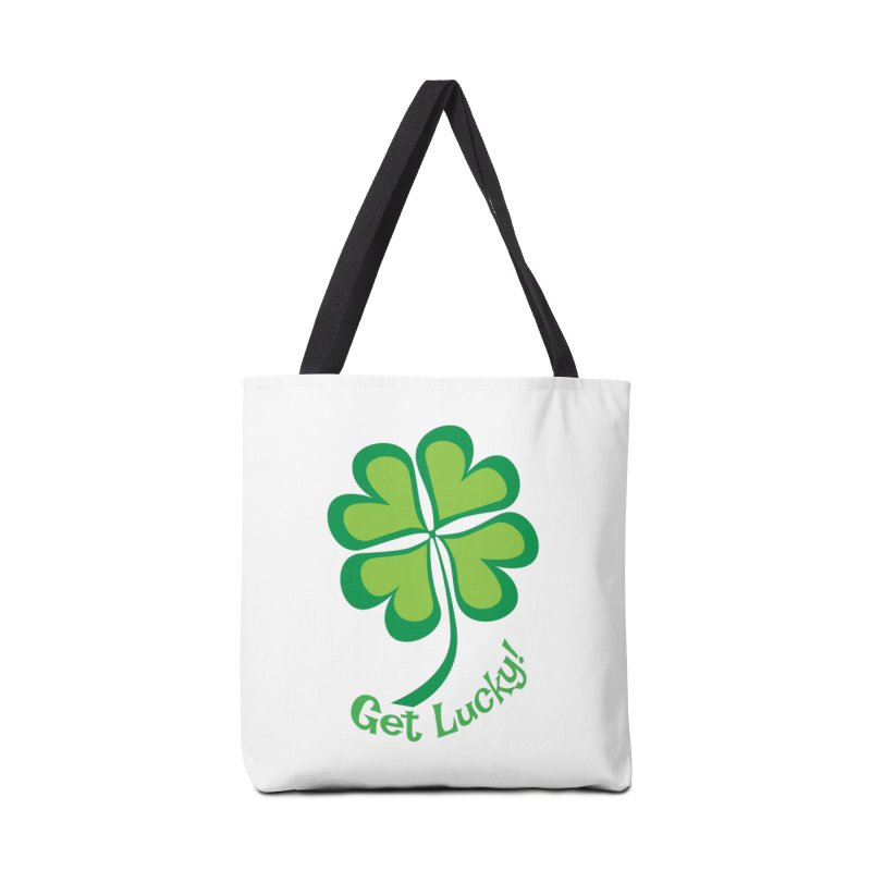 Get Lucky! Accessories Bag by immerzion's t-shirt designs