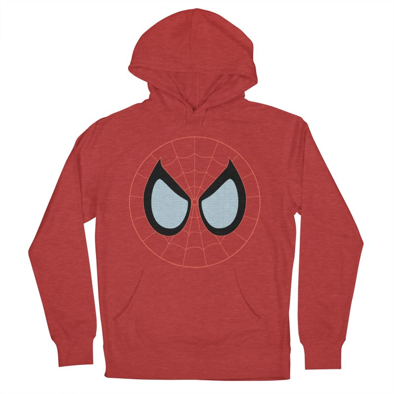 Spidey Men's French Terry Pullover Hoody by immerzion's t-shirt designs