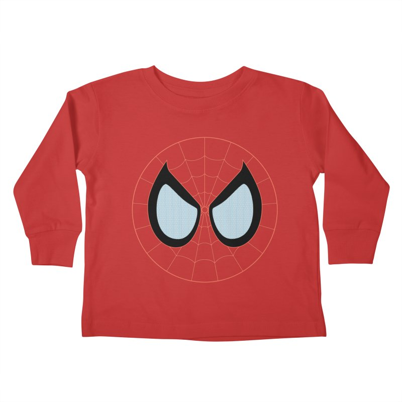 Spidey Kids Toddler Longsleeve T-Shirt by immerzion's t-shirt designs