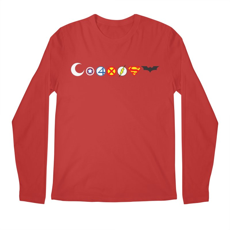 Comic Coexist Men's Regular Longsleeve T-Shirt by immerzion's t-shirt designs