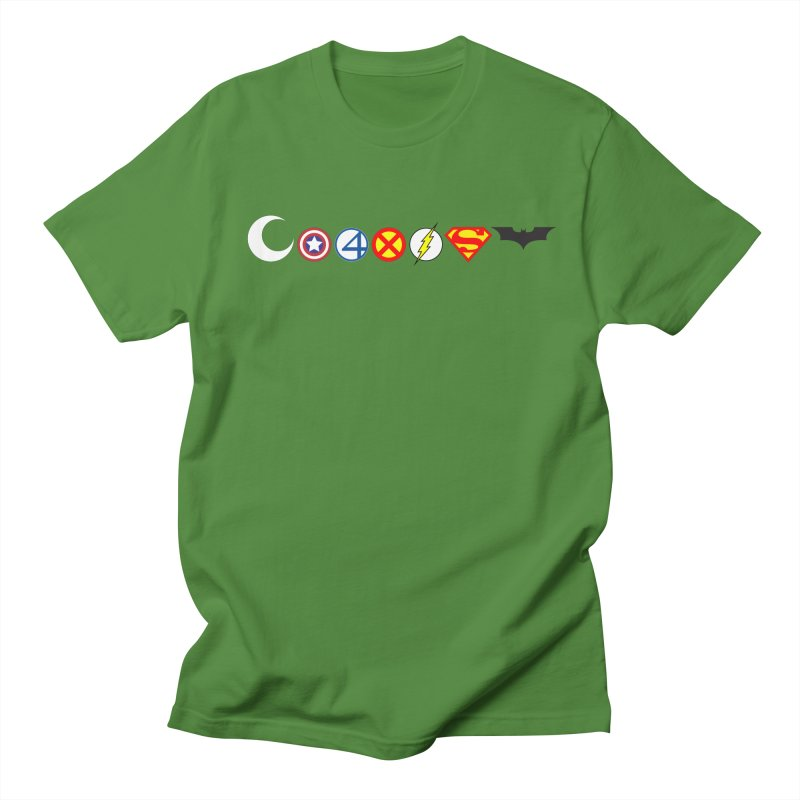 Comic Coexist Men's Regular T-Shirt by immerzion's t-shirt designs