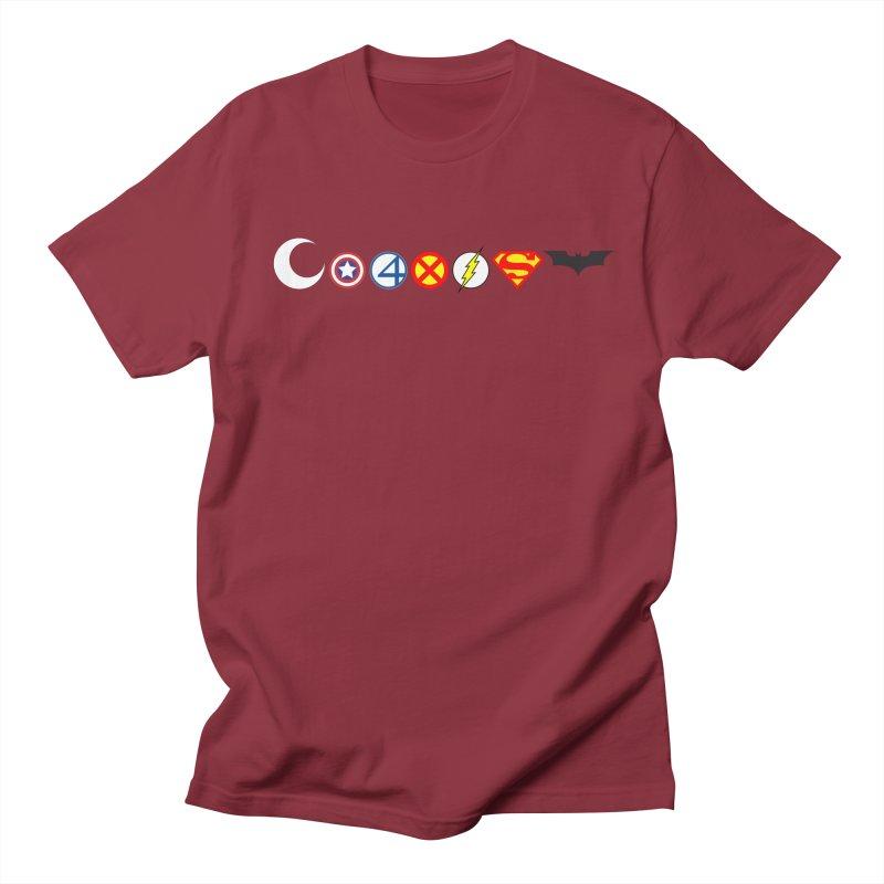 Comic Coexist Women's Regular Unisex T-Shirt by immerzion's t-shirt designs