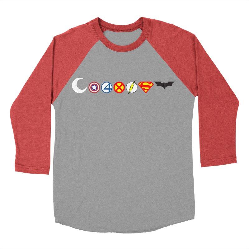 Comic Coexist Women's Baseball Triblend Longsleeve T-Shirt by immerzion's t-shirt designs