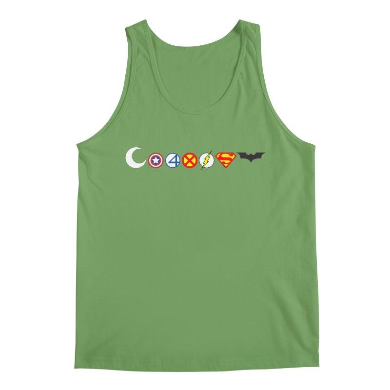 Comic Coexist Men's Tank by immerzion's t-shirt designs