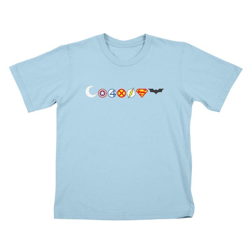 Comic Coexist Kids T-Shirt by immerzion's t-shirt designs