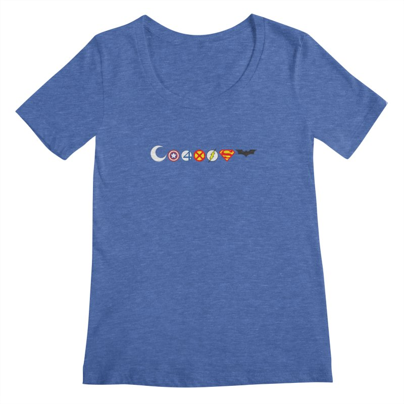 Comic Coexist Women's Scoopneck by immerzion's t-shirt designs
