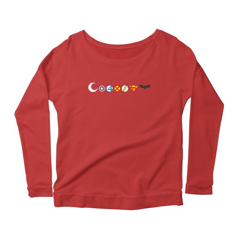 Comic Coexist Women's Longsleeve Scoopneck  by immerzion's t-shirt designs