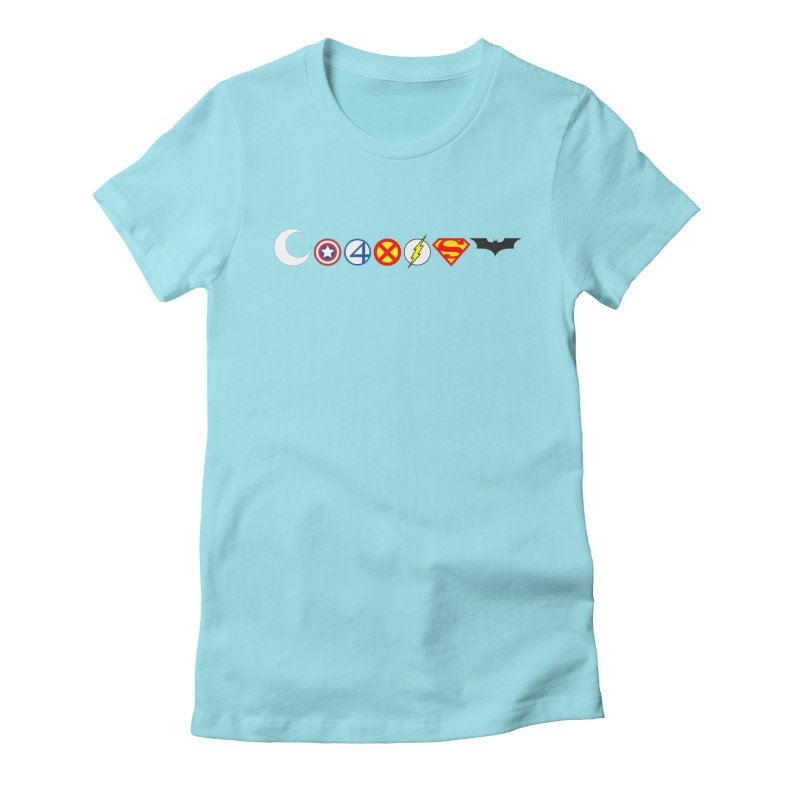 Comic Coexist Women's Fitted T-Shirt by immerzion's t-shirt designs