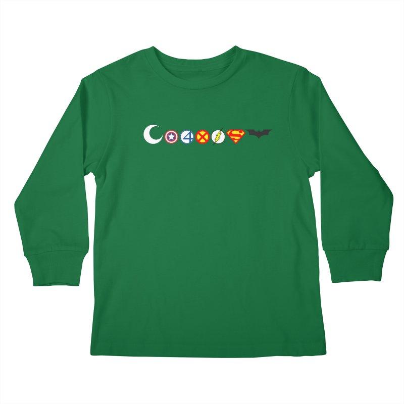 Comic Coexist Kids Longsleeve T-Shirt by immerzion's t-shirt designs