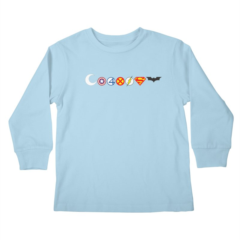 Comic Coexist Kids Longsleeve T-Shirt by immerzion's t-shirt designs