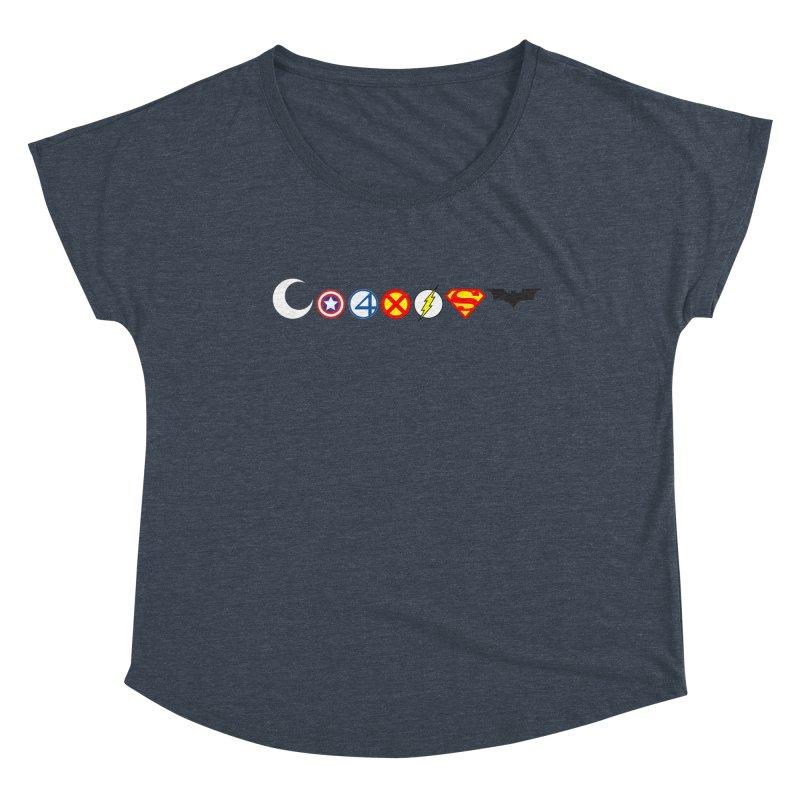 Comic Coexist Women's Scoop Neck by immerzion's t-shirt designs