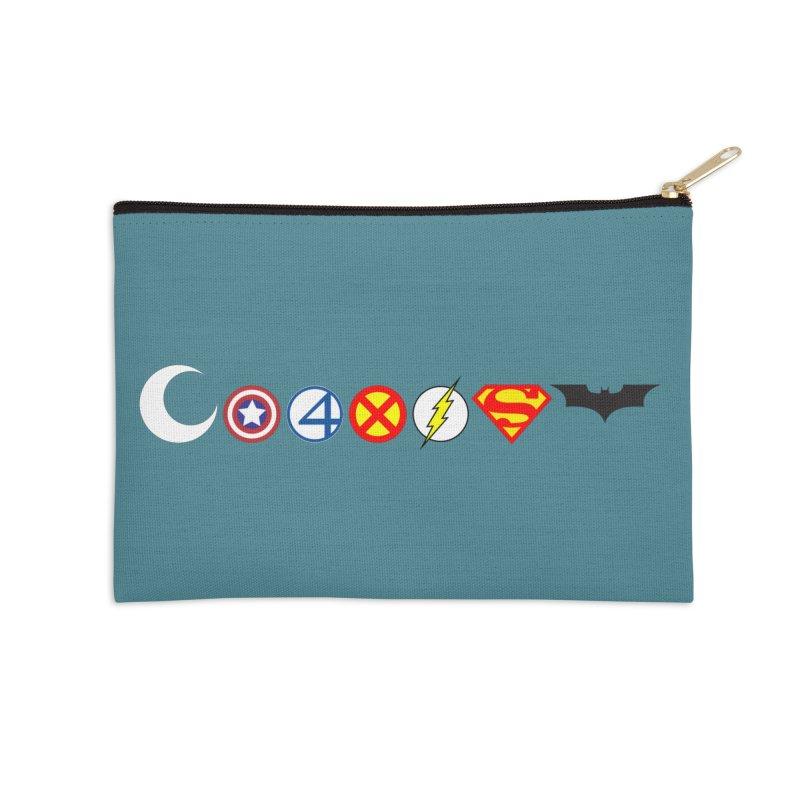 Comic Coexist Accessories Zip Pouch by immerzion's t-shirt designs