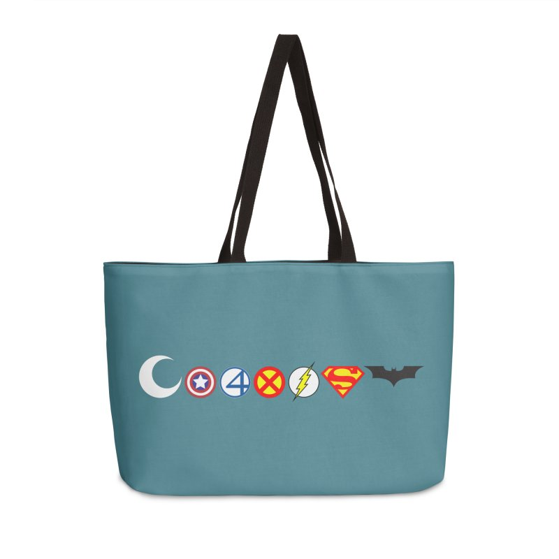 Comic Coexist Accessories Weekender Bag Bag by immerzion's t-shirt designs