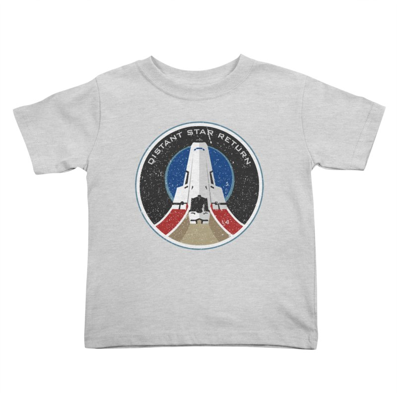 Distant Star Pathfinder Kids Toddler T-Shirt by immerzion's t-shirt designs
