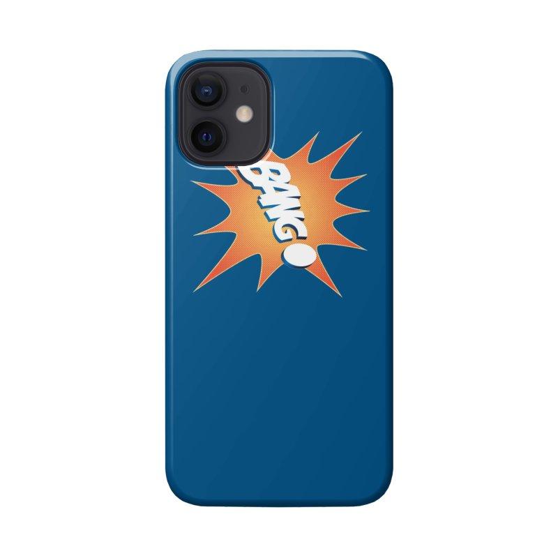 Bang! Accessories Phone Case by immerzion's t-shirt designs