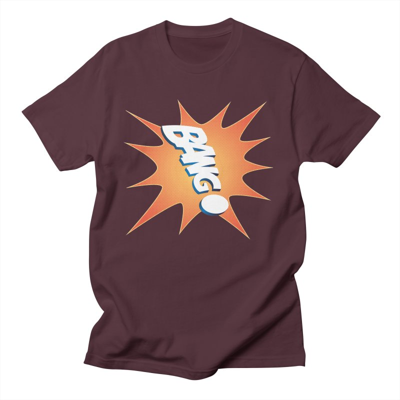 Bang! Men's T-Shirt by immerzion's t-shirt designs