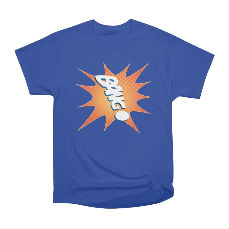 Bang! Women's Heavyweight Unisex T-Shirt by immerzion's t-shirt designs