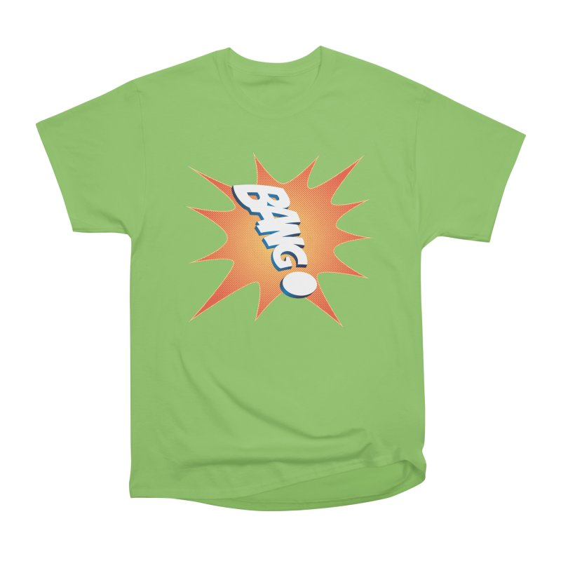 Bang! Men's Heavyweight T-Shirt by immerzion's t-shirt designs