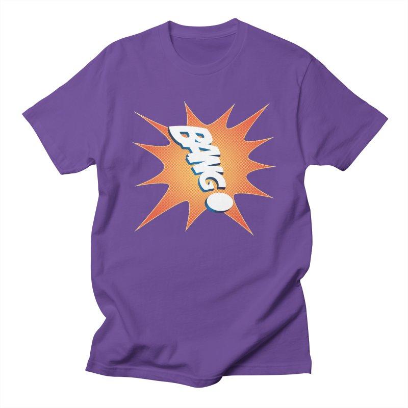 Bang! Women's Regular Unisex T-Shirt by immerzion's t-shirt designs