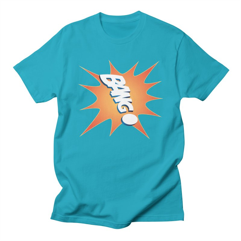 Bang! Women's Unisex T-Shirt by immerzion's t-shirt designs