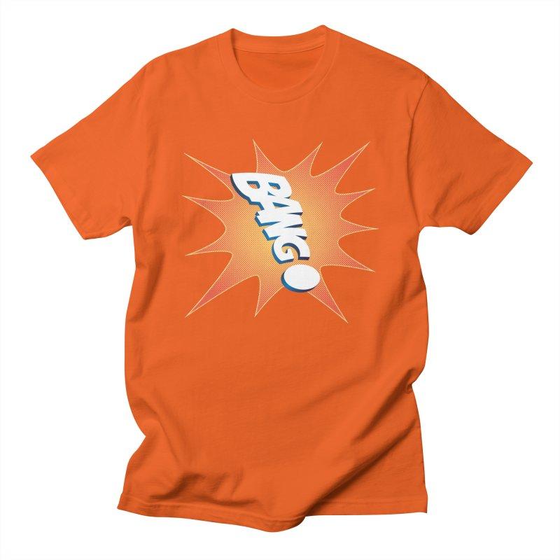 Bang! Men's Regular T-Shirt by immerzion's t-shirt designs