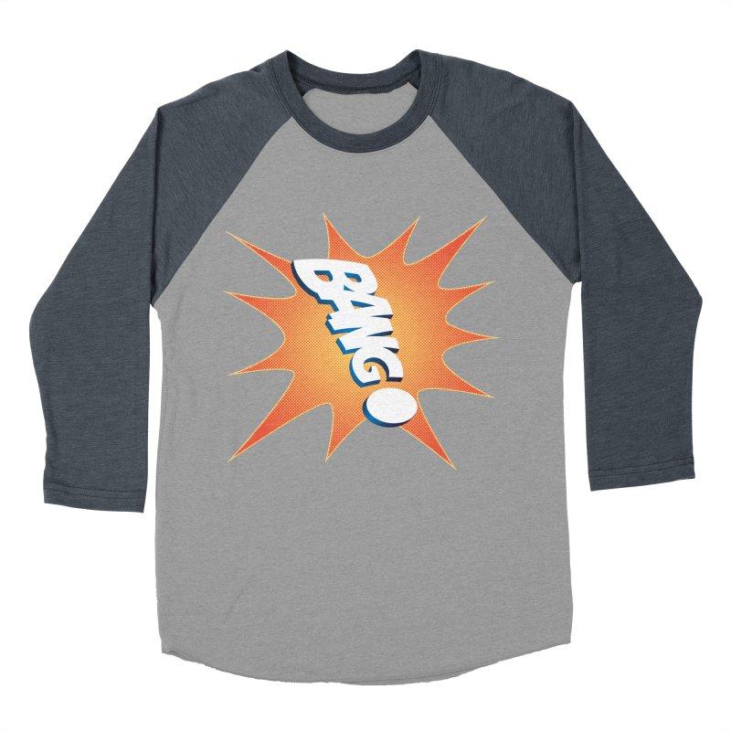 Bang! Men's Baseball Triblend T-Shirt by immerzion's t-shirt designs