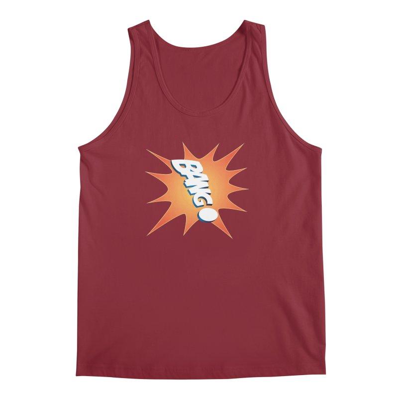 Bang! Men's Regular Tank by immerzion's t-shirt designs