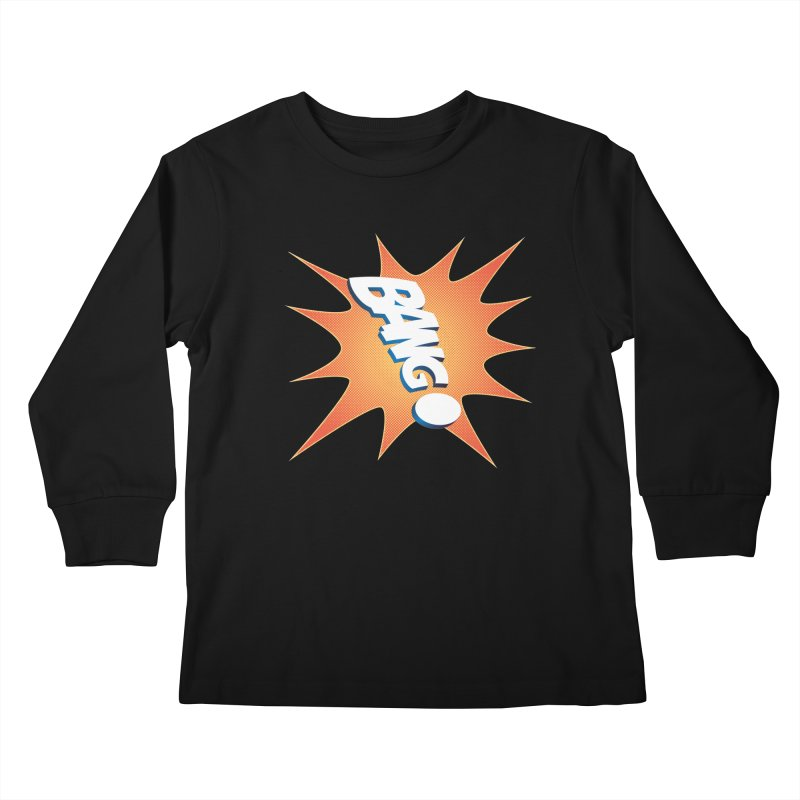 Bang! Kids Longsleeve T-Shirt by immerzion's t-shirt designs