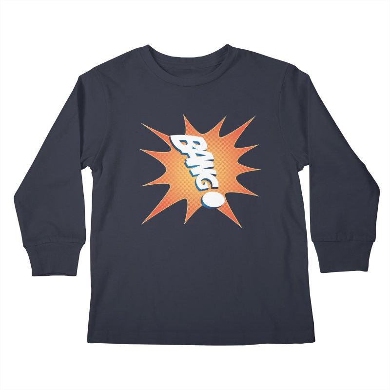 Bang! Kids Longsleeve T-Shirt by immerzion's t-shirt designs