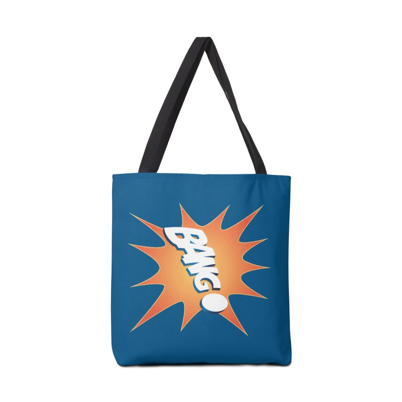Bang! Accessories Tote Bag Bag by immerzion's t-shirt designs