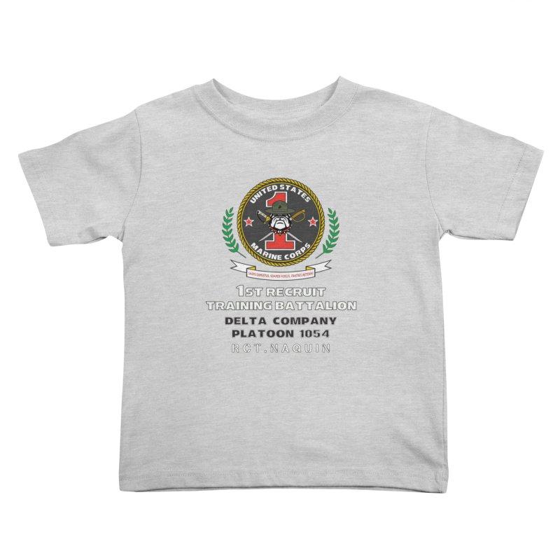 1st Training Battalion - RCT Naquin Kids Toddler T-Shirt by immerzion's t-shirt designs