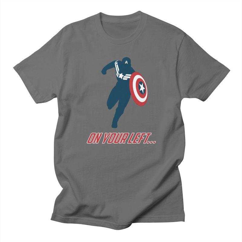 On Your Left Men's T-Shirt by immerzion's t-shirt designs