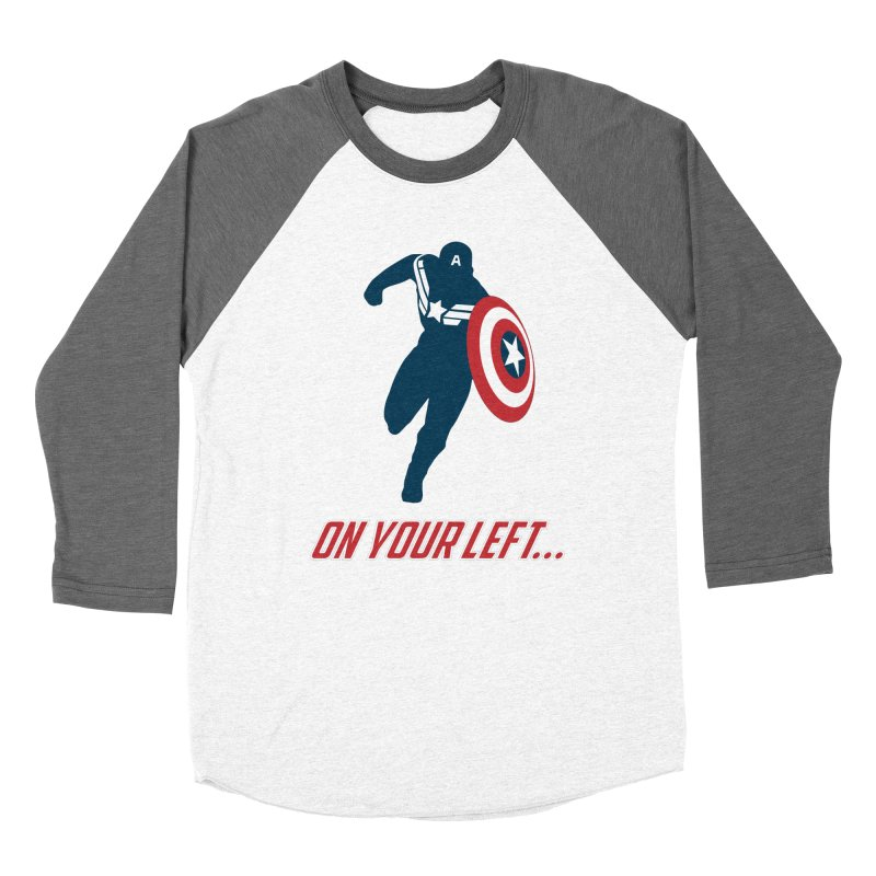 On Your Left Men's Baseball Triblend Longsleeve T-Shirt by immerzion's t-shirt designs