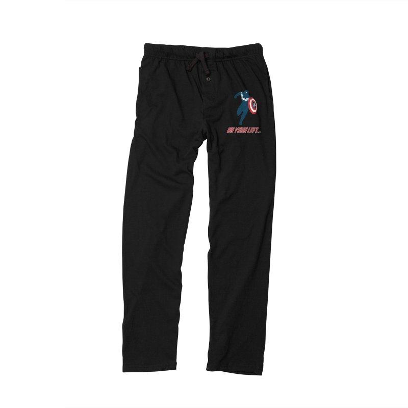 On Your Left Women's Lounge Pants by immerzion's t-shirt designs