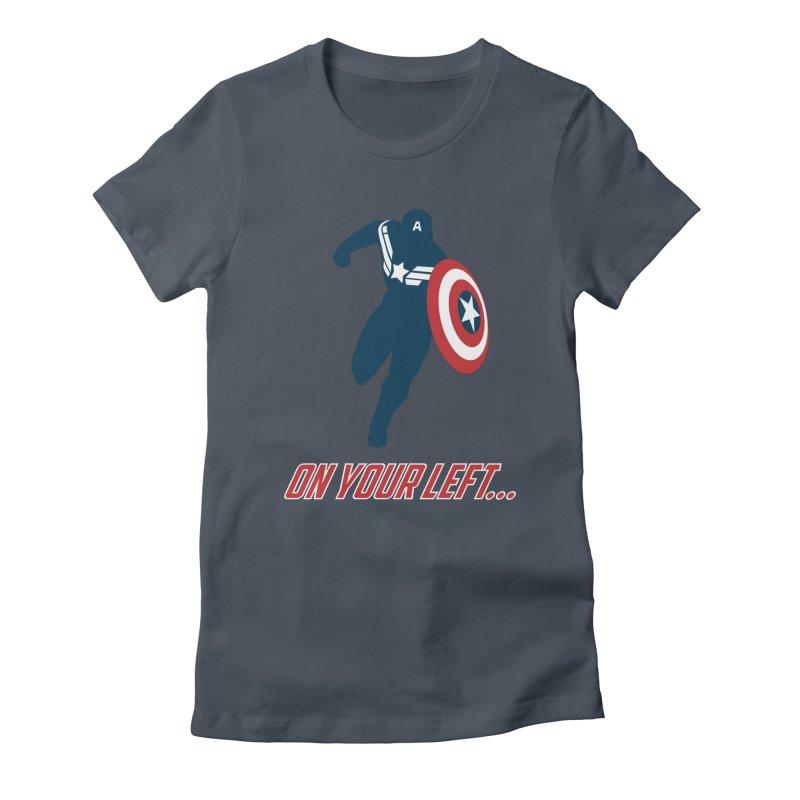 On Your Left Women's T-Shirt by immerzion's t-shirt designs