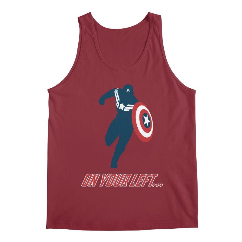 On Your Left Men's Tank by immerzion's t-shirt designs