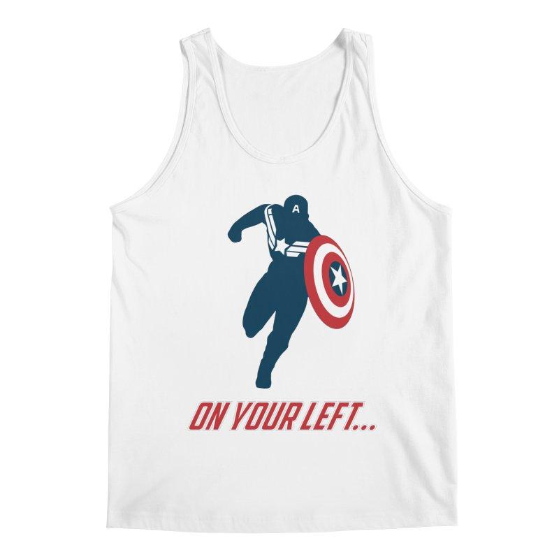 On Your Left Men's Regular Tank by immerzion's t-shirt designs