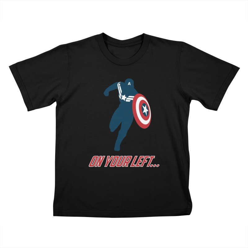 On Your Left Kids T-shirt by immerzion's t-shirt designs