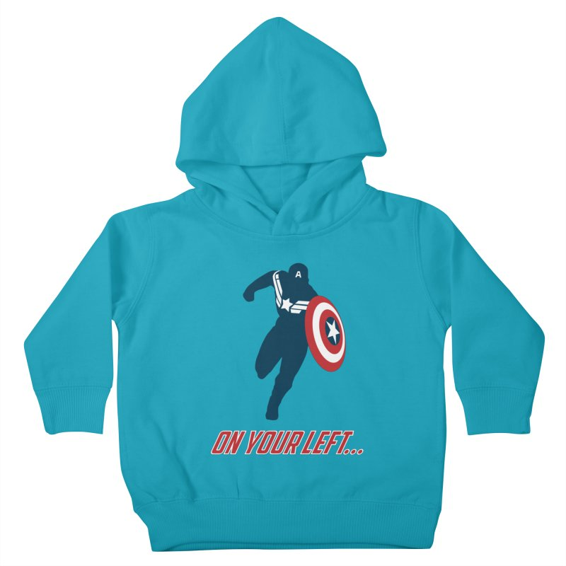 On Your Left Kids Toddler Pullover Hoody by immerzion's t-shirt designs