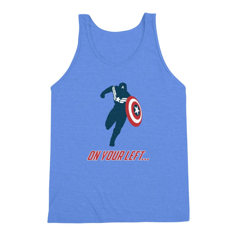 On Your Left Men's Triblend Tank by immerzion's t-shirt designs