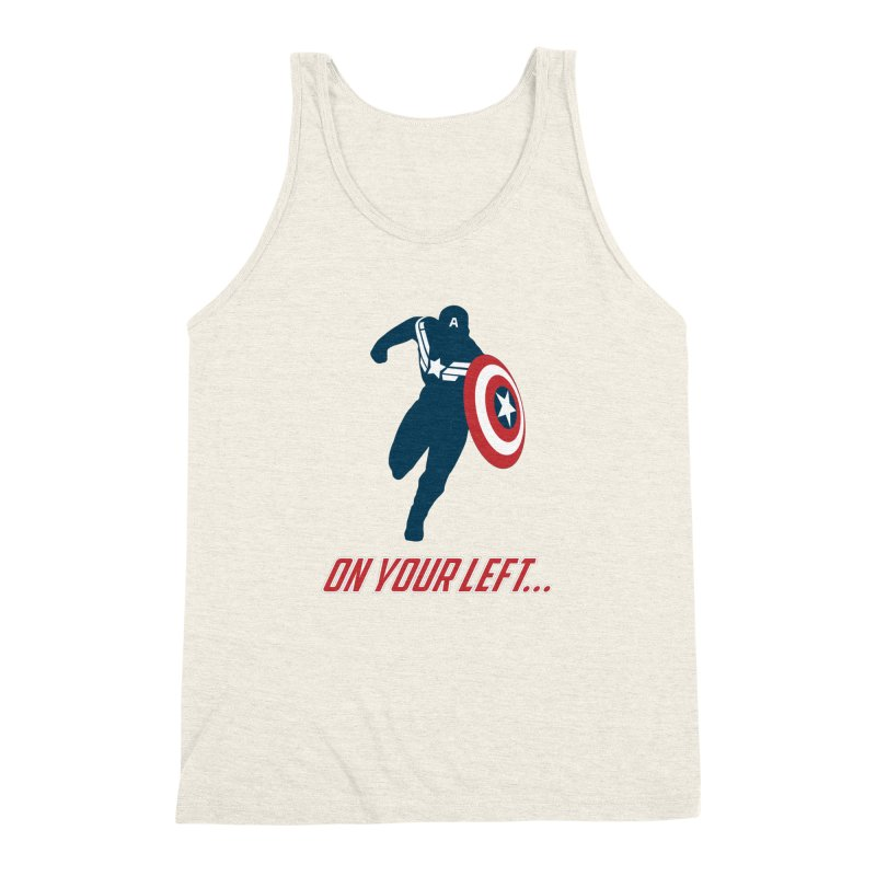 On Your Left Men's Triblend Tank by immerzion's t-shirt designs